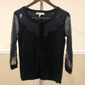 Women Juicy Couture Lace Cardigan